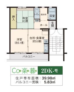 【関西地区】UR賃貸の高齢者向け特別設備改善住宅と「Co楽暮(こらぼ)」住宅とは?イメージ02